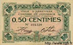 50 Centimes FRANCE régionalisme et divers ABBEVILLE 1920 JP.001.01