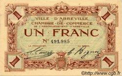1 Franc FRANCE régionalisme et divers Abbeville 1920 JP.001.03 TTB à SUP