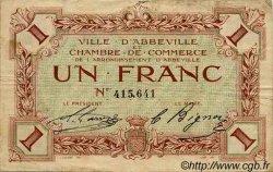 1 Franc FRANCE régionalisme et divers Abbeville 1920 JP.001.03 TB