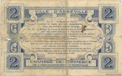 2 Francs FRANCE régionalisme et divers ABBEVILLE 1920 JP.001.05 TB
