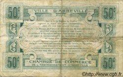 50 Centimes FRANCE régionalisme et divers ABBEVILLE 1920 JP.001.08 TB