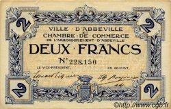 2 Francs FRANCE régionalisme et divers ABBEVILLE 1920 JP.001.11 TTB à SUP