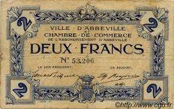 2 Francs FRANCE régionalisme et divers Abbeville 1920 JP.001.17 TB