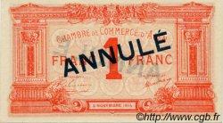 1 Franc FRANCE régionalisme et divers Agen 1914 JP.002.04 SPL à NEUF