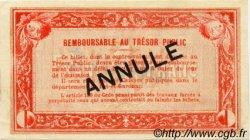 1 Franc FRANCE régionalisme et divers AGEN 1917 JP.002.10 SPL à NEUF