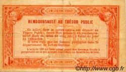 1 Franc FRANCE régionalisme et divers AGEN 1917 JP.002.14 TB