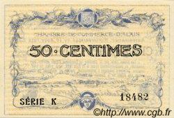 50 Centimes FRANCE régionalisme et divers Alais. Nom Actuel : Alès 1915 JP.004.01 SPL à NEUF