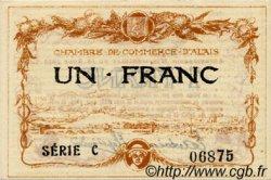 1 Franc FRANCE régionalisme et divers Alais. Nom Actuel : Alès 1915 JP.004.05 SPL à NEUF