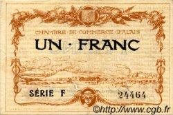1 Franc FRANCE régionalisme et divers ALAIS   NOM ACTUEL :  ALÈS 1915 JP.004.05 TB