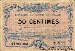 50 Centimes FRANCE régionalisme et divers ALAIS   NOM ACTUEL :  ALÈS 1916 JP.004.07 TB