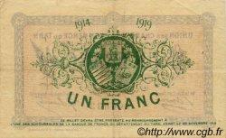 1 Franc FRANCE régionalisme et divers Albi - Castres - Mazamet 1914 JP.005.05 TTB à SUP