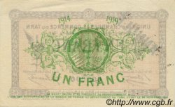 1 Franc FRANCE régionalisme et divers Albi - Castres - Mazamet 1914 JP.005.07 TTB à SUP