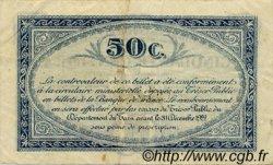 50 Centimes FRANCE régionalisme et divers Albi - Castres - Mazamet 1917 JP.005.09 TB