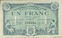 1 Franc FRANCE régionalisme et divers ALBI - CASTRES - MAZAMET 1917 JP.005.13 SPL à NEUF
