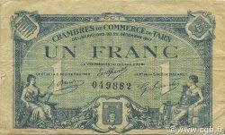 1 Franc FRANCE régionalisme et divers Albi - Castres - Mazamet 1917 JP.005.13 TB