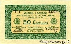 50 Centimes FRANCE régionalisme et divers Alencon et Flers 1915 JP.006.03 SPL à NEUF
