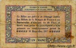 1 Franc FRANCE régionalisme et divers Alencon et Flers 1915 JP.006.15 TB