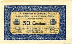 1 Franc FRANCE régionalisme et divers ALENCON ET FLERS 1915 JP.006.22 TTB à SUP