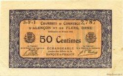 50 Centimes FRANCE régionalisme et divers Alencon et Flers 1915 JP.006.33 SPL à NEUF