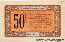 50 Centimes FRANCE régionalisme et divers Alencon et Flers 1915 JP.006.33 TTB à SUP