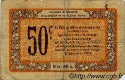 50 Centimes FRANCE régionalisme et divers ALENCON ET FLERS 1915 JP.006.33