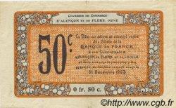 50 Centimes FRANCE régionalisme et divers ALENCON ET FLERS 1915 JP.006.35 TTB à SUP