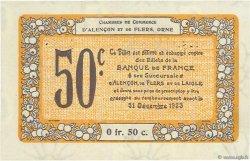 50 Centimes FRANCE régionalisme et divers Alencon et Flers 1915 JP.006.37 SPL à NEUF