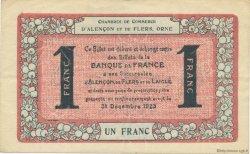 1 Franc FRANCE régionalisme et divers Alencon et Flers 1915 JP.006.38 TTB à SUP