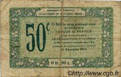 50 Centimes FRANCE régionalisme et divers ALENCON ET FLERS 1915 JP.006.43 TB