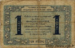 1 Franc FRANCE régionalisme et divers Alencon et Flers 1915 JP.006.48 TB