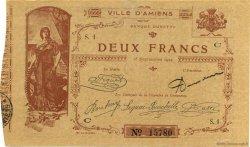 2 Francs FRANCE régionalisme et divers Amiens 1914 JP.007.03 SPL à NEUF