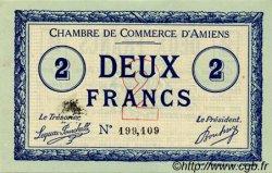 2 Francs FRANCE régionalisme et divers AMIENS 1915 JP.007.11 TTB à SUP