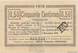 50 Centimes FRANCE régionalisme et divers AMIENS 1915 JP.007.14 SPL à NEUF