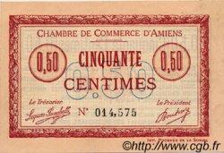 50 Centimes FRANCE régionalisme et divers Amiens 1915 JP.007.20 TTB à SUP