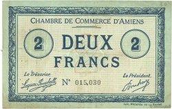 2 Francs FRANCE régionalisme et divers AMIENS 1915 JP.007.22 TB