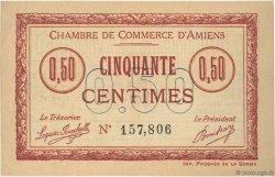 50 Centimes FRANCE régionalisme et divers Amiens 1915 JP.007.23 SPL à NEUF
