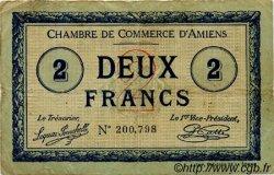 2 Francs FRANCE régionalisme et divers AMIENS 1915 JP.007.25 TB