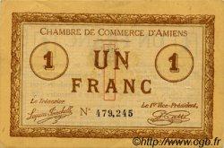 1 Franc FRANCE régionalisme et divers AMIENS 1915 JP.007.28 TTB à SUP