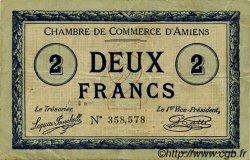 2 Francs FRANCE régionalisme et divers AMIENS 1915 JP.007.38 TB