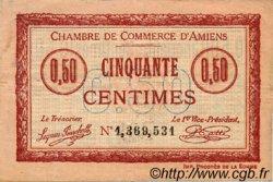 50 Centimes FRANCE régionalisme et divers AMIENS 1915 JP.007.40 TB