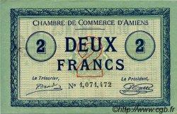 2 Francs FRANCE régionalisme et divers AMIENS 1915 JP.007.46 SPL à NEUF
