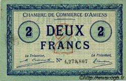 2 Francs FRANCE régionalisme et divers Amiens 1920 JP.007.53 TTB à SUP