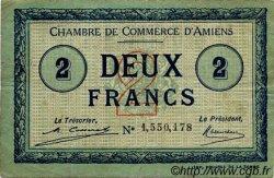 2 Francs FRANCE régionalisme et divers AMIENS 1920 JP.007.53 TB