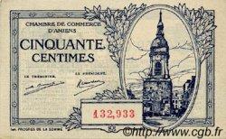50 Centimes FRANCE régionalisme et divers Amiens 1922 JP.007.55 SPL à NEUF