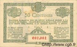 50 Centimes FRANCE régionalisme et divers Amiens 1922 JP.007.55 TTB à SUP
