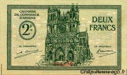 2 Francs FRANCE régionalisme et divers AMIENS 1922 JP.007.57 TTB à SUP