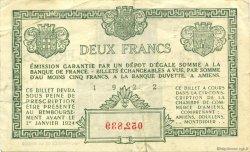2 Francs FRANCE régionalisme et divers Amiens 1922 JP.007.57 TB