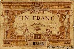 1 Franc FRANCE régionalisme et divers Angers 1915 JP.008.01 TB