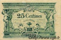 25 Centimes FRANCE régionalisme et divers Angers 1917 JP.008.04 TTB à SUP