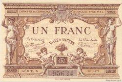 1 Franc FRANCE régionalisme et divers Angers 1915 JP.008.06 SPL à NEUF